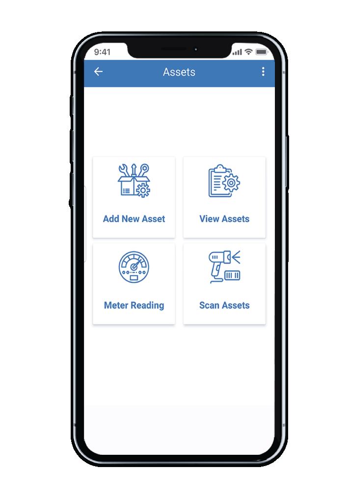 Smart Maximo Mobile application asset screen